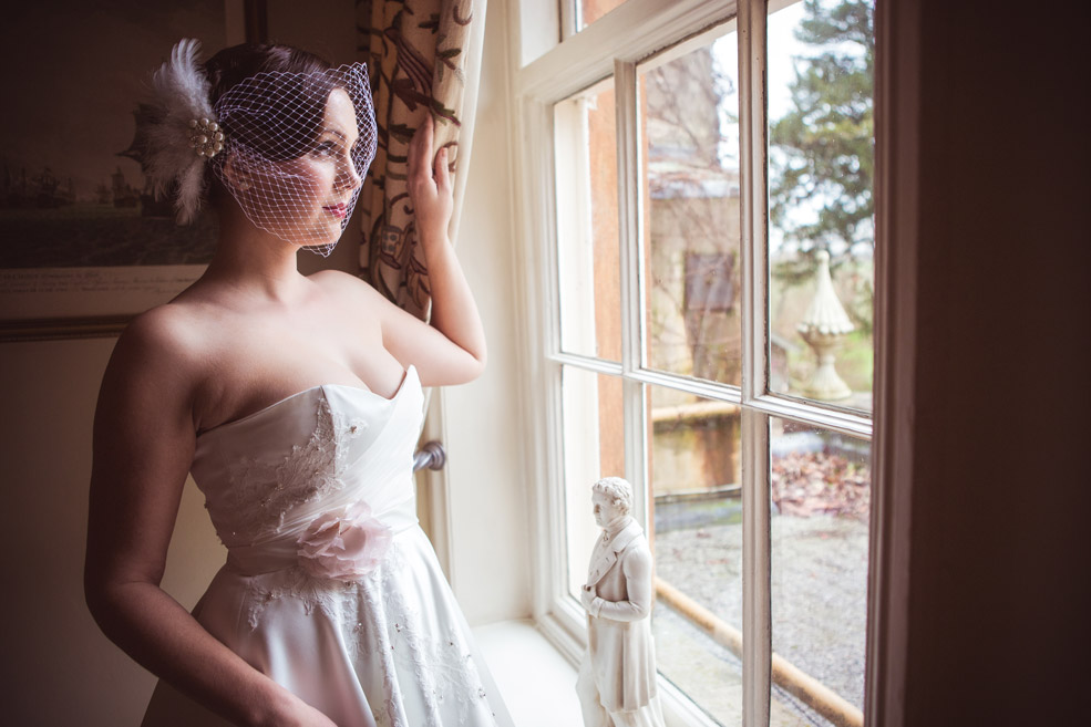 Wedding Dresses in Derbyshire by Elizabeth Malcolm